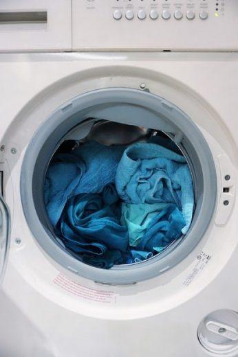 dry towel loaded in a dryer